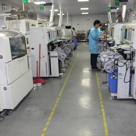 辉鸿机电设备贴片机回流焊及生产线客户