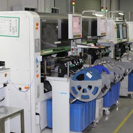 辉鸿机电设备波峰焊贴片机生产线客户